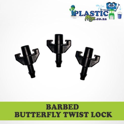 Barbed Butterfly Twist Lock
