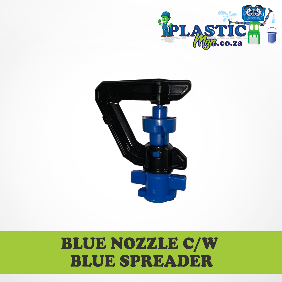 Blue Nozzel c/w Blue Spreader