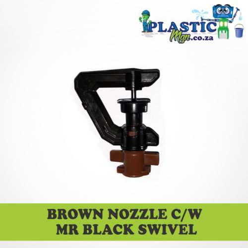 Brown Nozzel c/w Mr. Black Swivel
