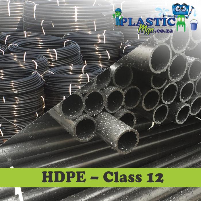 Plasticman HDPE Class 12 Pipe