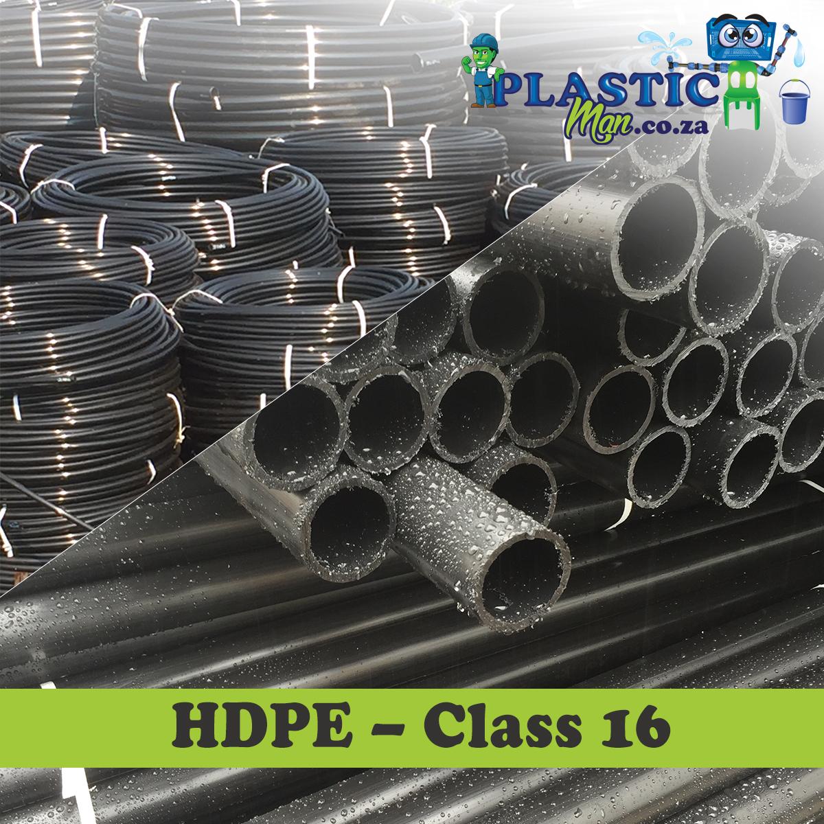 Plasticman HDPE Class 16 Pipe