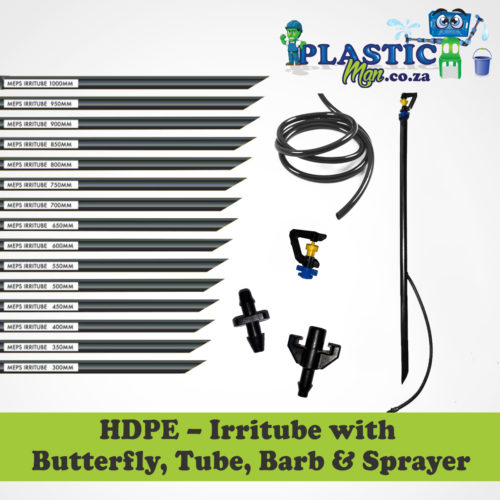 Plasticman HDPE - Irritube with Butterfly , tube, barb and Sprayer
