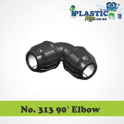 Plasticman HDPE - 90 Degree Elbow