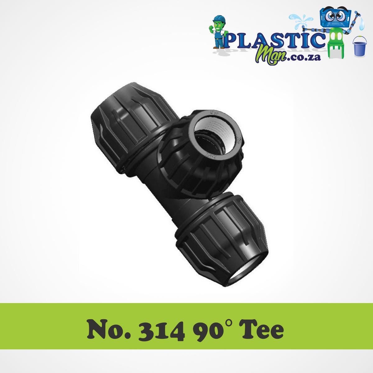 Plasticman HDPE - 90 degree Tee