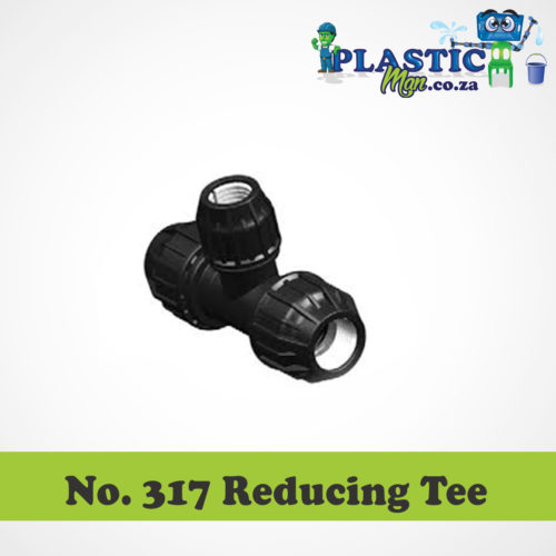 Plasticman HDPE - Reducing Tee