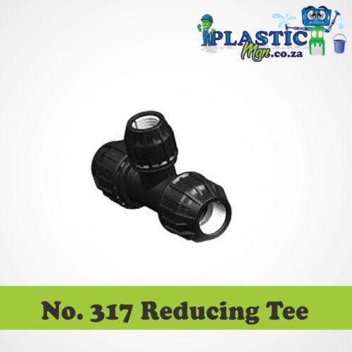 Plasticman HDPE - Reducing Tee