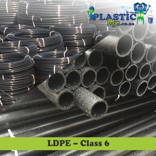 Plasticman LDPE Class 6 pipe