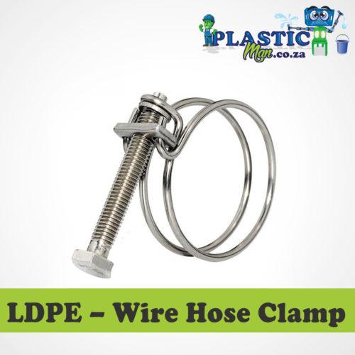 Plasticman LDPE - Wire Hose Clamp