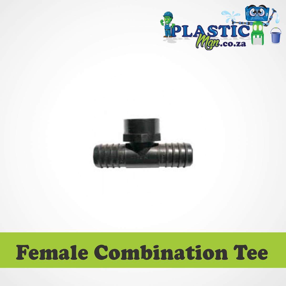Plasticman LDPE - Female Combination Tee