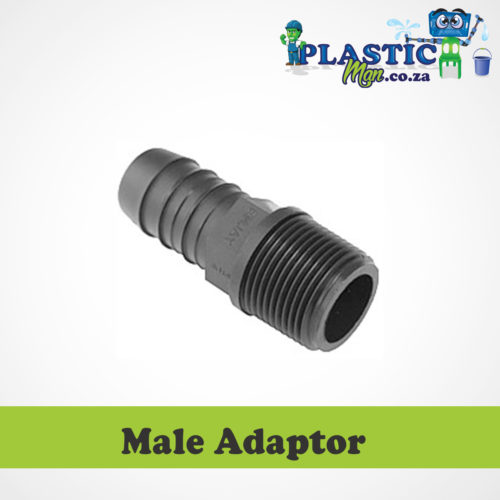 Plasticman LDPE - Male Adaptor