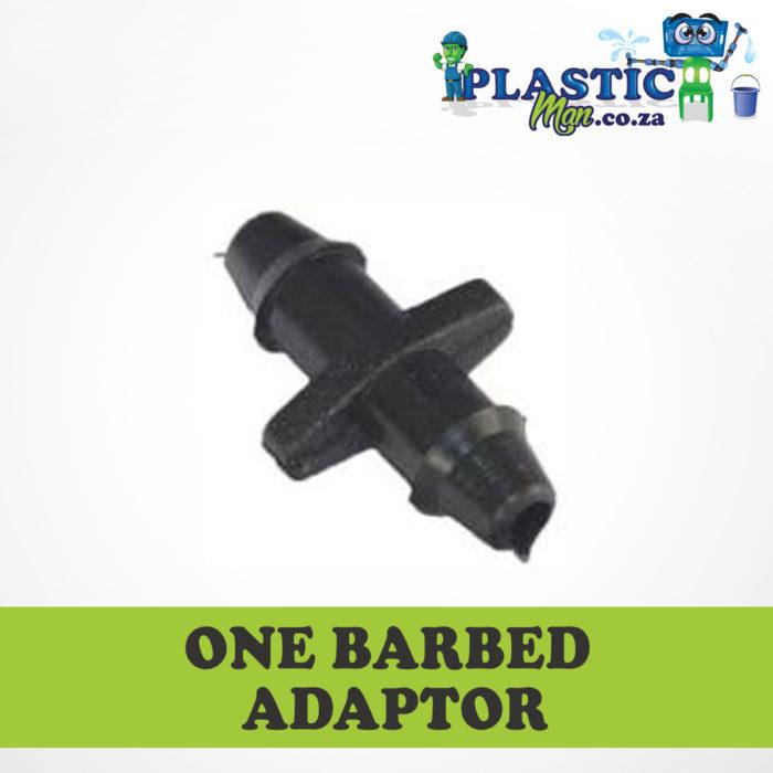 Plasticman On Barbed Adaptor
