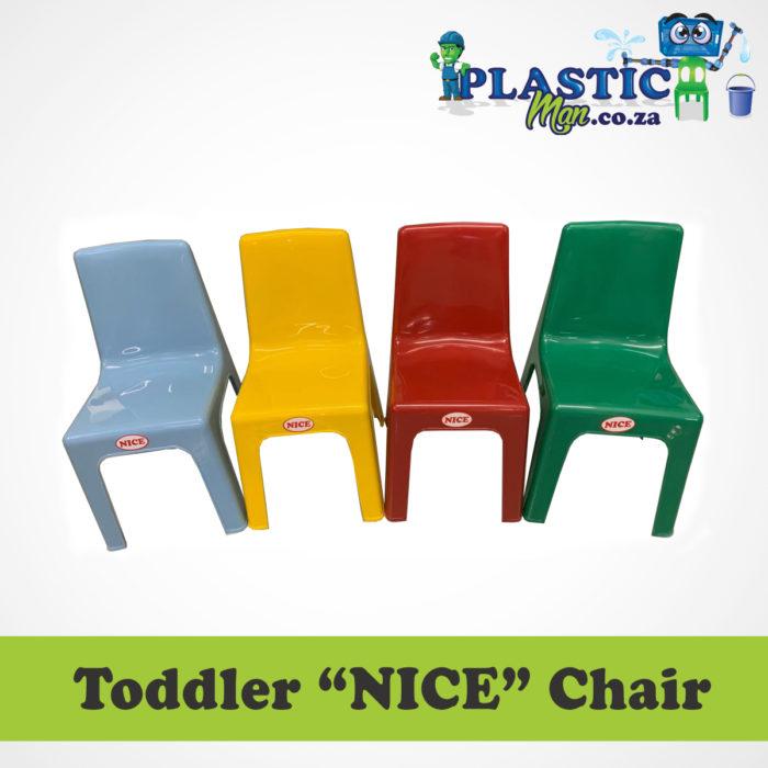 "Plastic man Toddler ""NICE"" Chair"