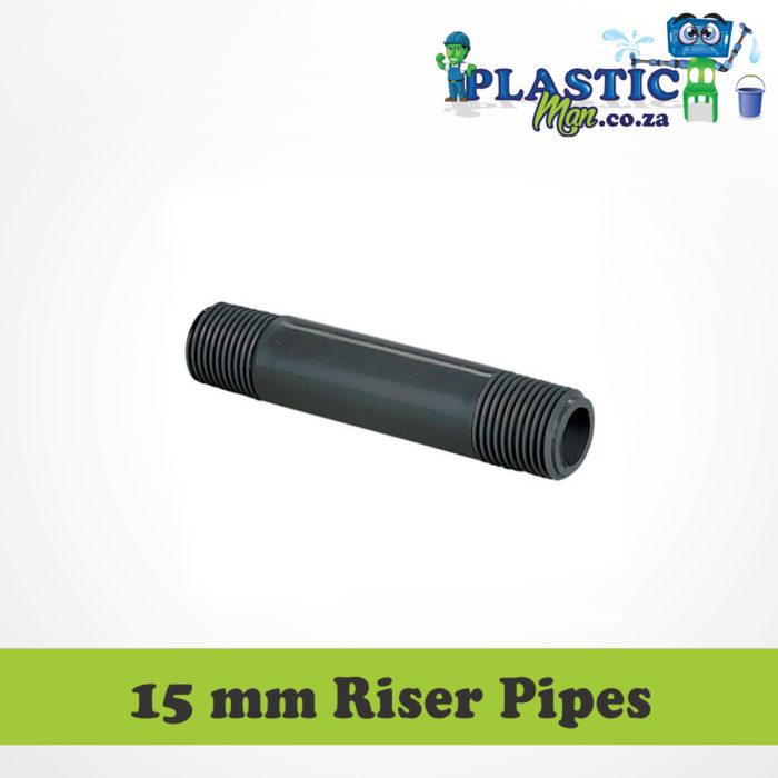 15 mm Plastic Man Riser Pipes