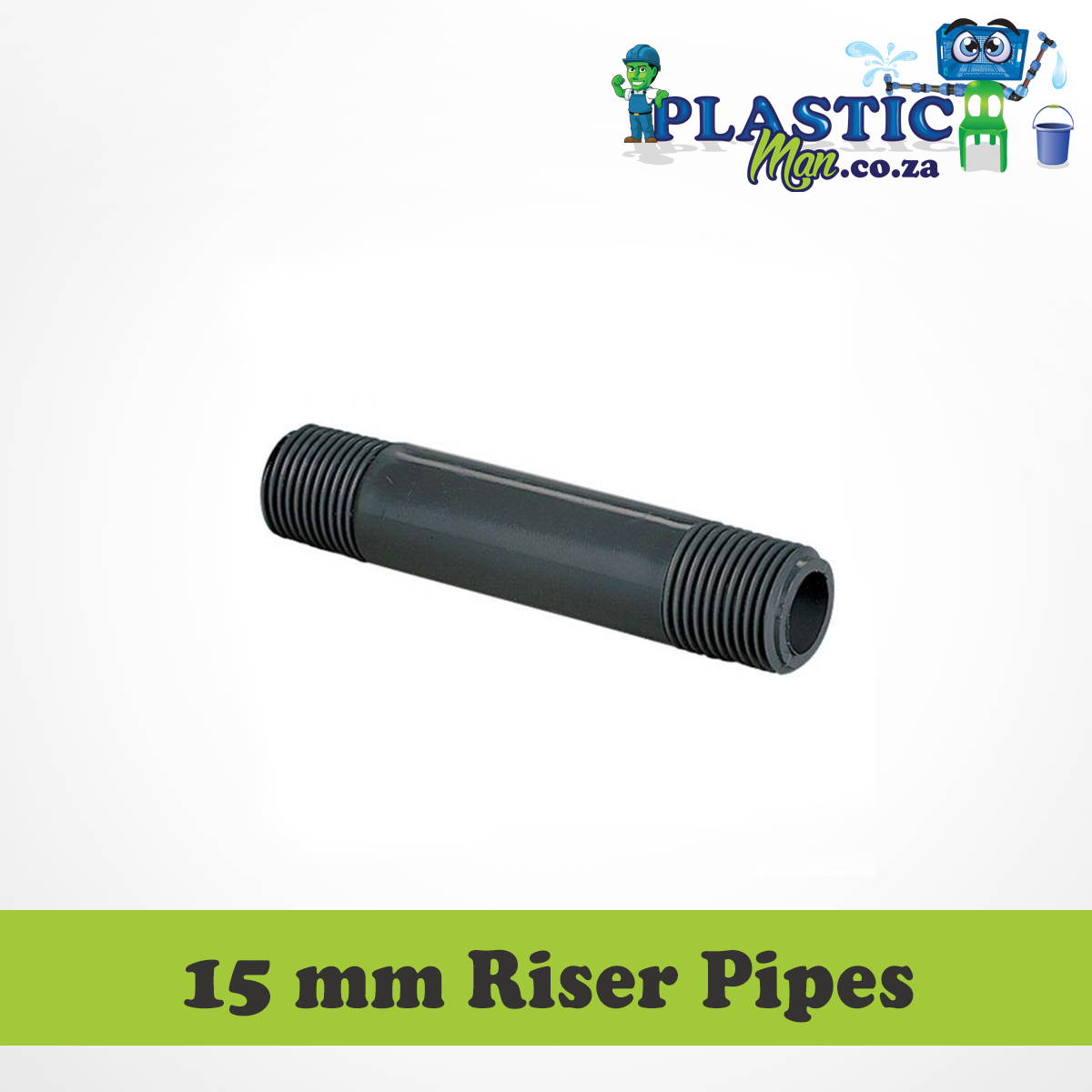 15 mm Plastic Man Riser Pipes