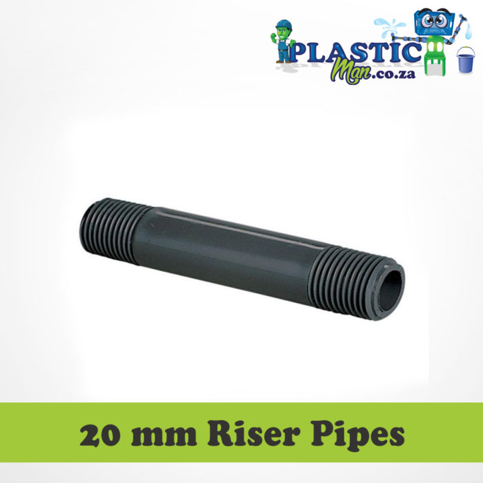 20 mm Plastic Man Riser Pipes