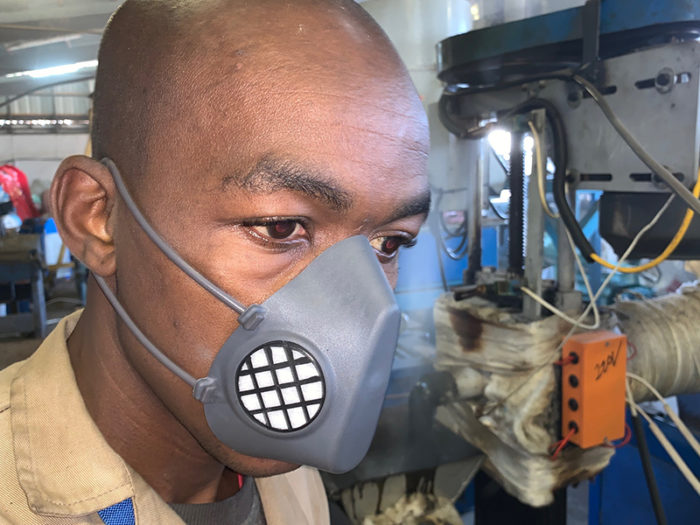 Thermoplastic Moulded Respirator Masks