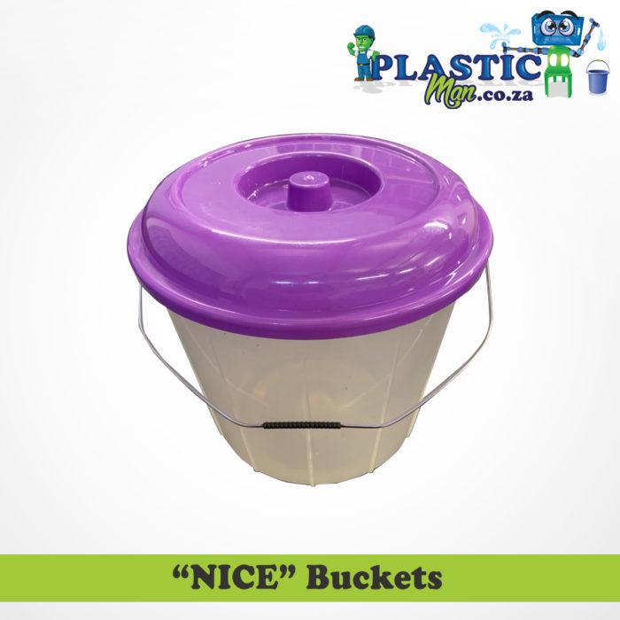 "Plasticman ""NICE"" Buckets"