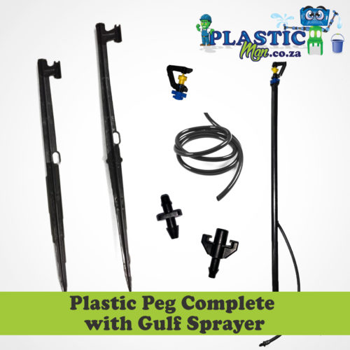 Plastic Peg with Complete Gulf Sprayer