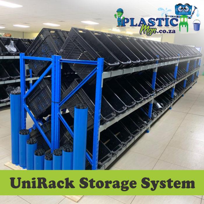 Plastic man Unirack Storage System
