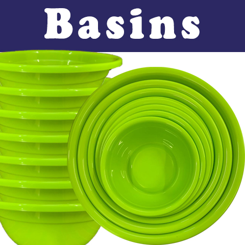 "Plasticman ""NICE"" Basins"